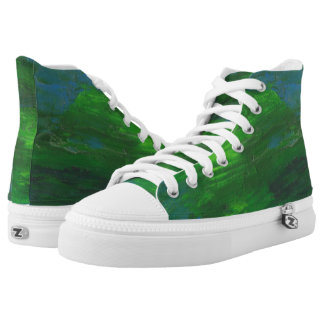 Earthbound Hi Top Printed Shoes