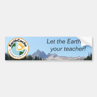 EarthCache Bumper Sticker