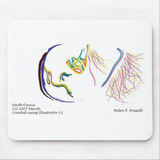 earthdance mouse pad