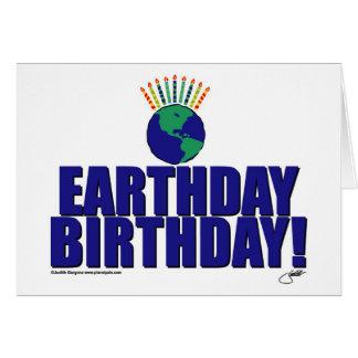 Earthday Birthday Card