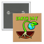 Earthday T Shirts and Gifts Button