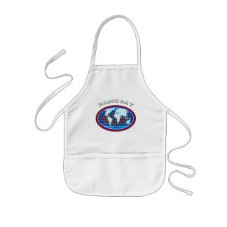 Earthday T Shirts and Gifts Kids Apron