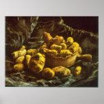 Earthen Bowls by Vincent van Gogh Poster