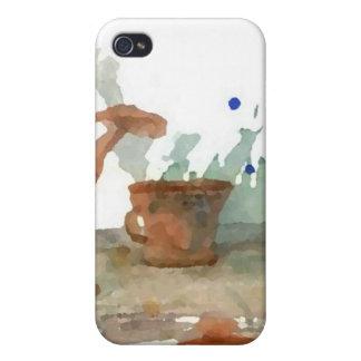 Earthenware  CricketDiane Coffee Art iPhone 4 Covers