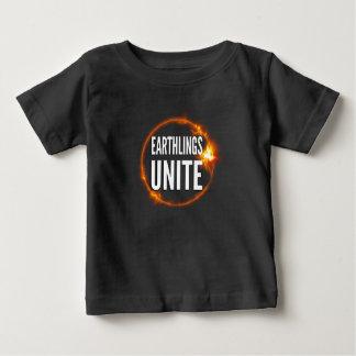 Earthlings Unite - Dark Baby's T-Shirt