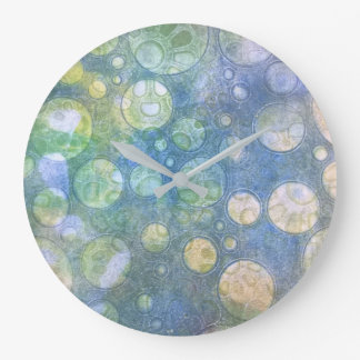 Earthly circles wall clock