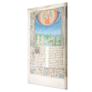 Earthly Paradise, a Book on Seven Ages of  World Canvas Print