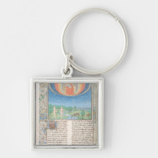 Earthly Paradise, a Book on Seven Ages of  World Key Ring