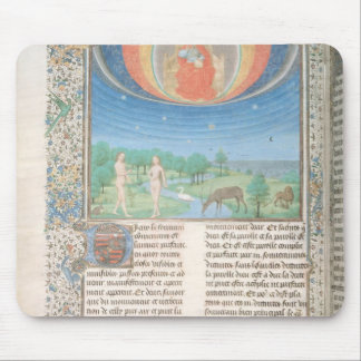 Earthly Paradise, a Book on Seven Ages of  World Mouse Mat