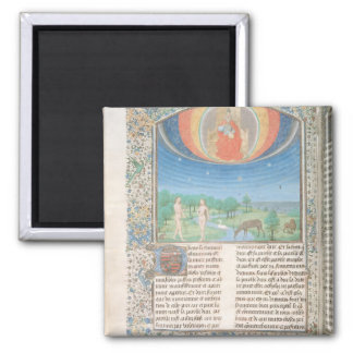 Earthly Paradise, a Book on Seven Ages of  World Square Magnet