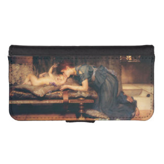 Earthly Paradise by Sir Lawrence Alma-Tadema iPhone 5 Wallet Cases