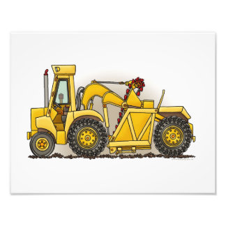 Earthmover Construction Photo Print