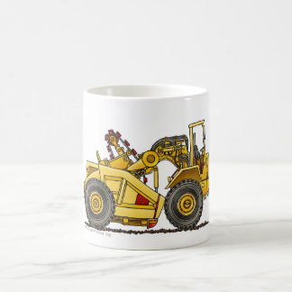 Earthmover Pan Scraper Construction Mugs