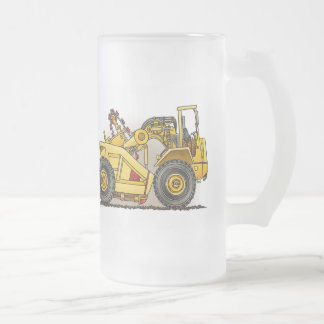 Earthmover Scraper Glass Mug