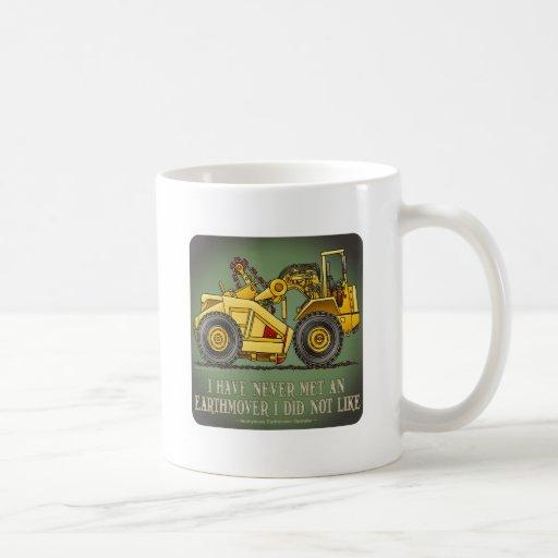 Earthmover Scraper Operator Quote Coffee Mug