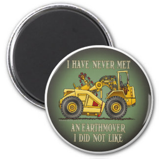 Earthmover Scraper Operator Quote Magnet