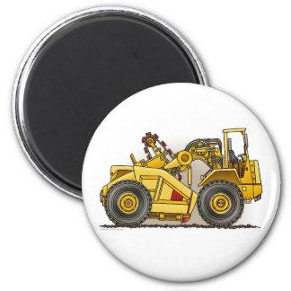 Earthmover Scraper Round Magnet