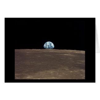 Earthrise - Apollo 11 Greeting Card