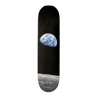 Earthrise - Apollo 8 Custom Skateboard