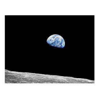 Earthrise - Apollo 8 Postcard