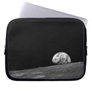Earthrise from Apollo 8 Moon Mission Laptop Computer Sleeve