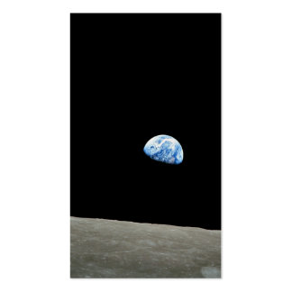EARTHRISE.jpg Pack Of Standard Business Cards