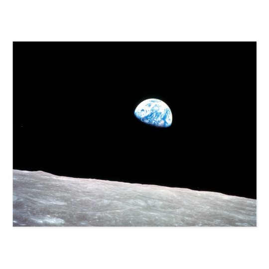 Earthrise Postcard