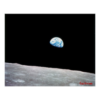 Earthrise Poster