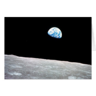 Earthrise - The Lunar Perspective Card