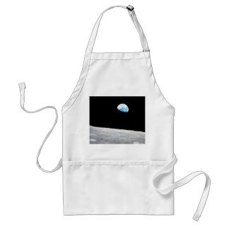 Earthrise - The Lunar Perspective Standard Apron