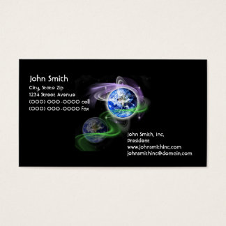 Earth's Ascension Business Card