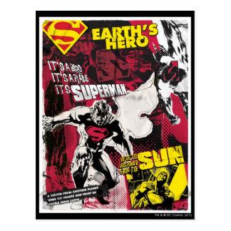 Earth's Hero Postcard