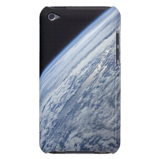 Earth's horizon against the blackness of space barely there iPod cover