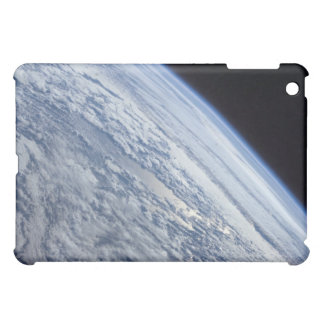 Earth's horizon against the blackness of space cover for the iPad mini