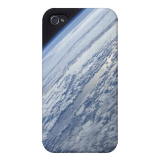 Earth's horizon against the blackness of space iPhone 4 case