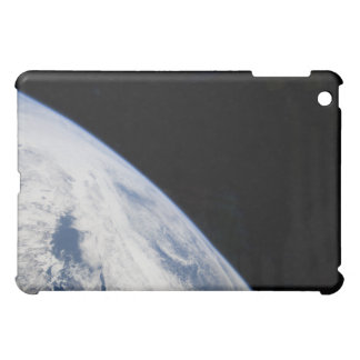 Earth's horizon and the blackness of space case for the iPad mini