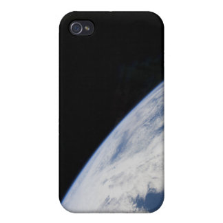 Earth's horizon and the blackness of space covers for iPhone 4