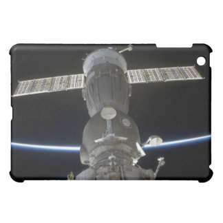 Earth's limb intersects a Soyuz spacecraft iPad Mini Cover