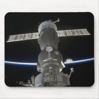 Earth's limb intersects a Soyuz spacecraft Mouse Mat
