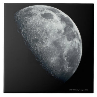 Earths Moon Tile
