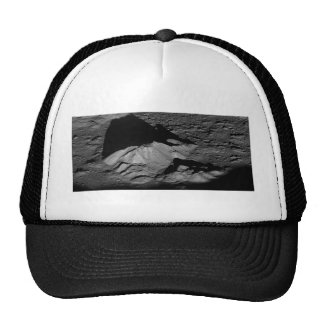 Earth's Moon Tycho Crater Central Peak Trucker Hat