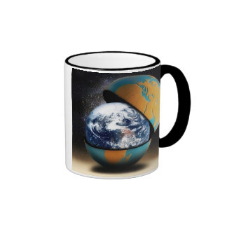 Earth's Protective Cover Ringer Mug