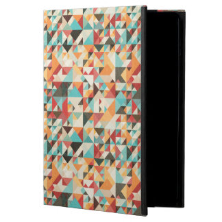 Earthtone Geometric Pattern Case For iPad Air