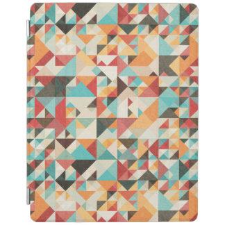 Earthtone Geometric Pattern iPad Cover