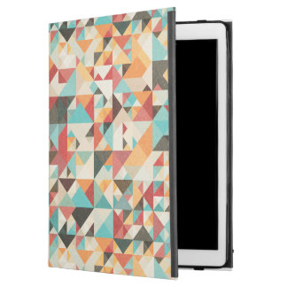 "Earthtone Geometric Pattern iPad Pro 12.9"" Case"