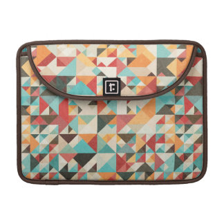 Earthtone Geometric Pattern Sleeve For MacBook Pro