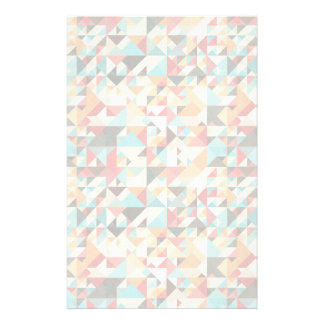 Earthtone Geometric Pattern Stationery