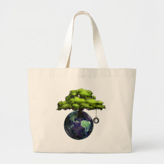EarthTree Large Tote Bag