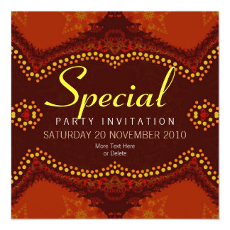 EarthTribe v2 Special Occassion Invitation