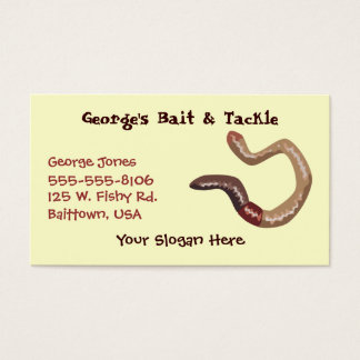 Earthworm Business card